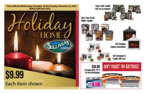 Sullivan's Foods Holiday Gift Hot Buys Dec 16-29, 2020